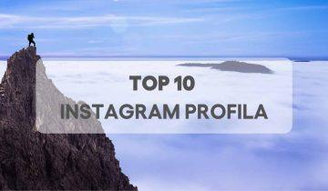Top 10 Instagram profila u svijetu 2019