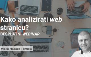 Kako analizirati web stranicu